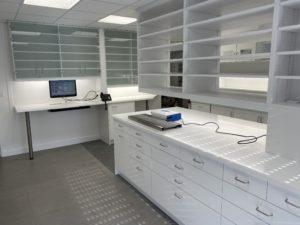 renovation d'une salle de stérilisation d'un cabinet d'orthodontie